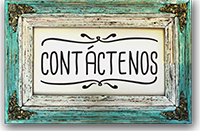 Contáctenos, contact us